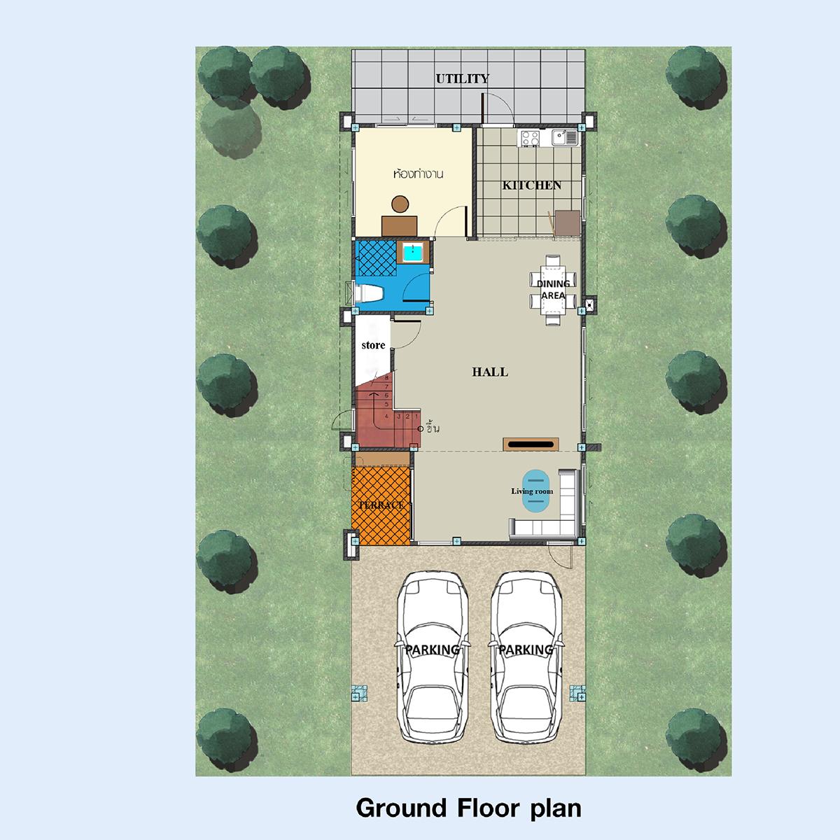 Ground Floor Plan (Type -A )