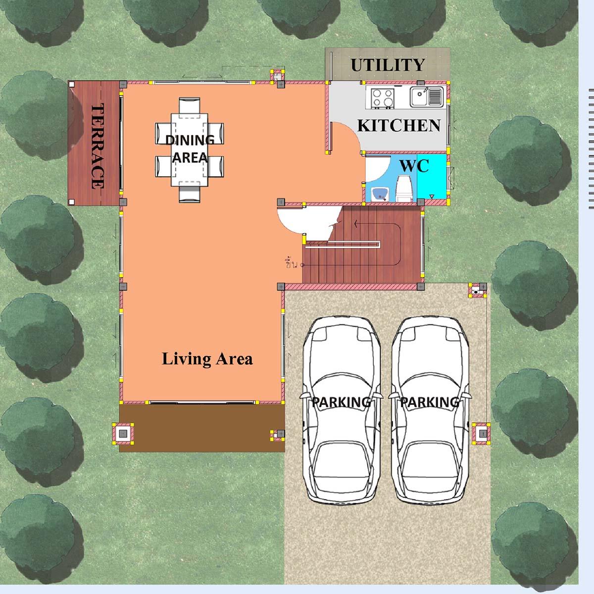 Ground Floor Plan (Type -C )
